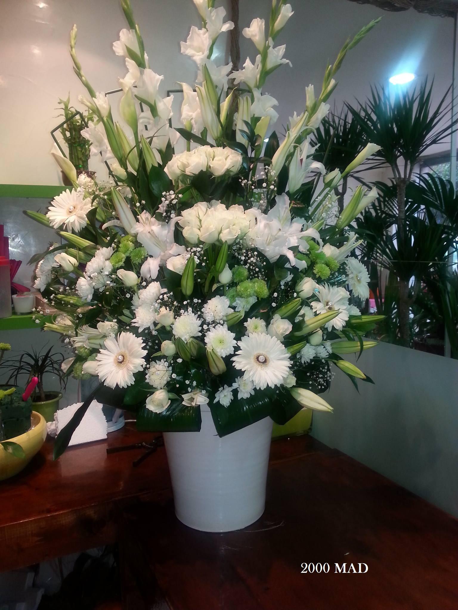 Livraison de fleurs composition mafleur ma maroc for Livraison de fleurs demain