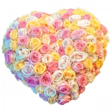 Heart - Pastel Roses