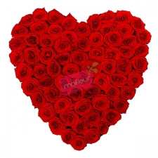 Heart - Red Roses