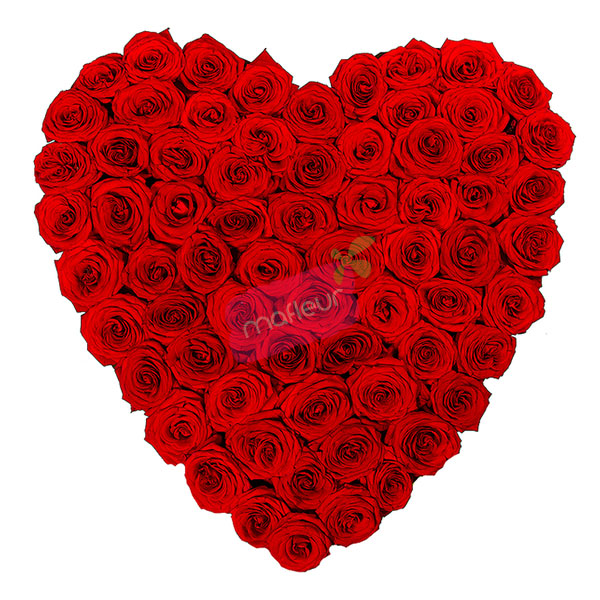 Delivery Roses Hearts Mafleur In Morocco
